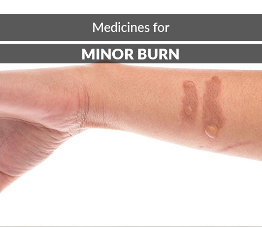List of 17 Best Medicines for Minor Burns - Composition, Dosage, Popularity & More (2019)