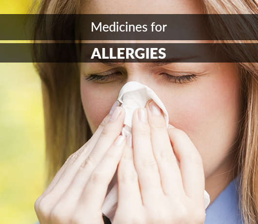 List of 20 Best Medicines for Allergies- Composition, Dosage, Popularity & More (2019)