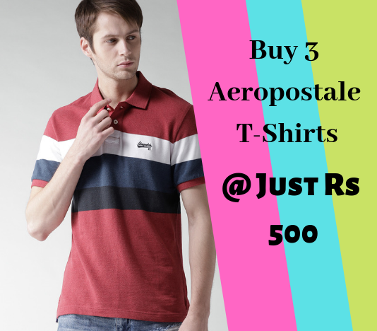 NNNow Aeropostale T-Shirts Offer