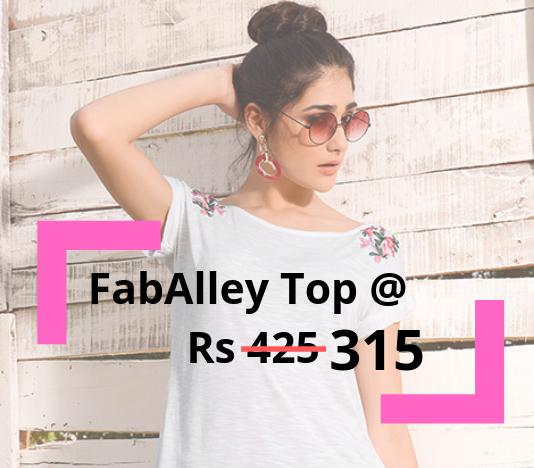 FabAlley Top Offer