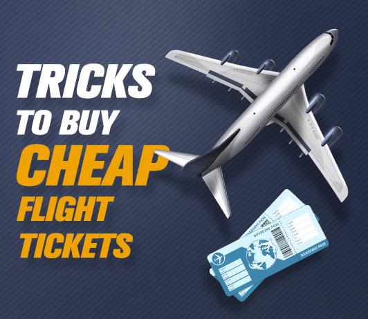 5 Simple Tricks To Buy Cheap Flight Tickets