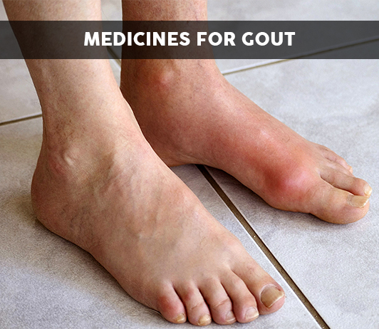 List of 21 Best Medicines for Gout - Composition, Dosage, Popularity & More (2019)