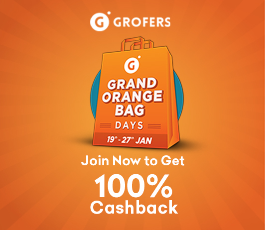 Save Flat 100% On Your Grocery Shopping