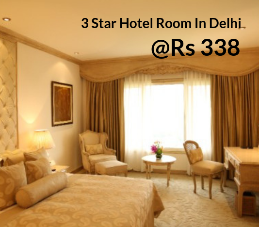 3 Star Hotel Room In Delhi