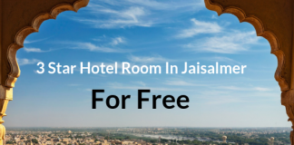 3 Star Hotel Room In Jaisalmer