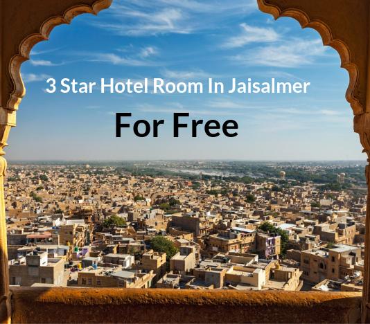 3 Star Hotel Room In Jaisalmer