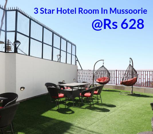 3 Star Hotel Room In Mussoorie