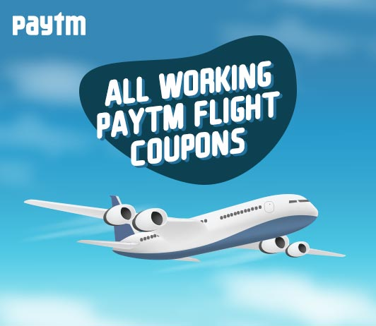 All Working Paytm Flight Coupons
