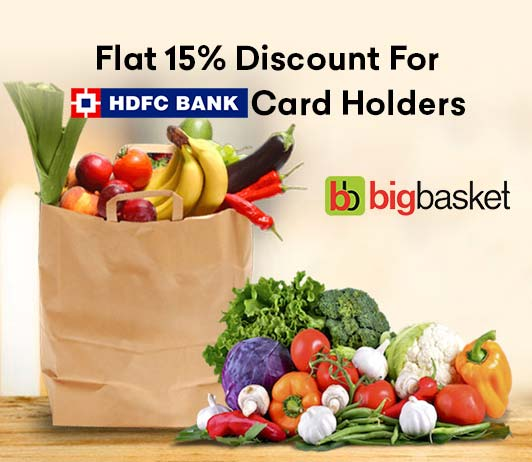 BigBasket HDFC Offer