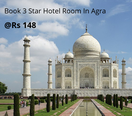 Book 3 Star Hotel Room In Agra