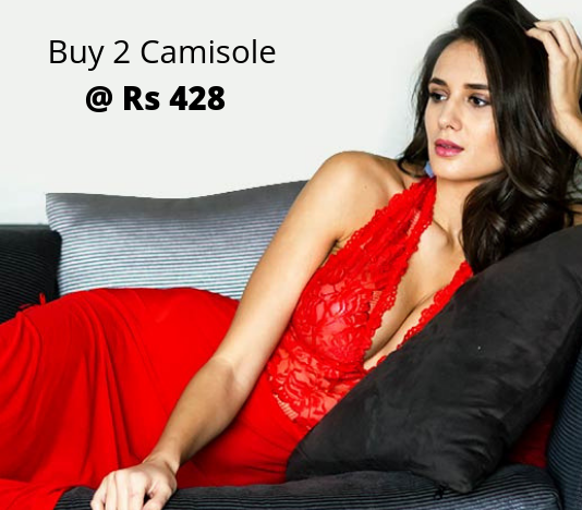 Buy 2 Camisole At Rs 428 Only