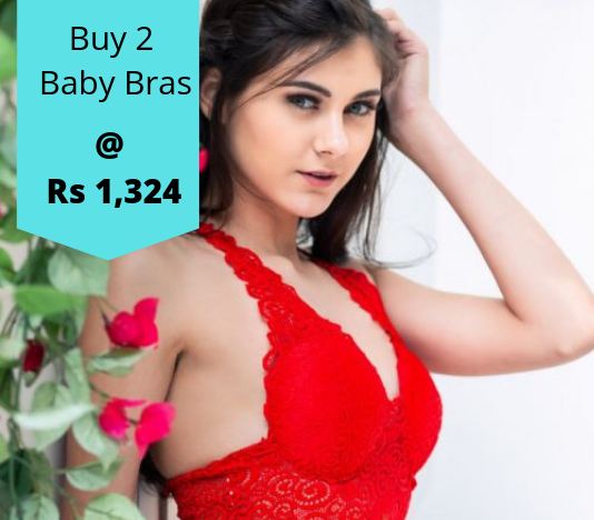 Buy 2 Shyaway Baby Bras At Rs 1,324