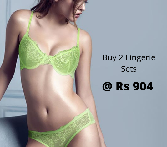 Buy 2 Shyaway Lingerie Sets At Rs 904