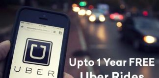 Cred Offer Upto 1 Year Free Uber Rides