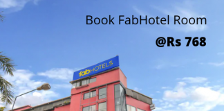FabHotels Offer and deals