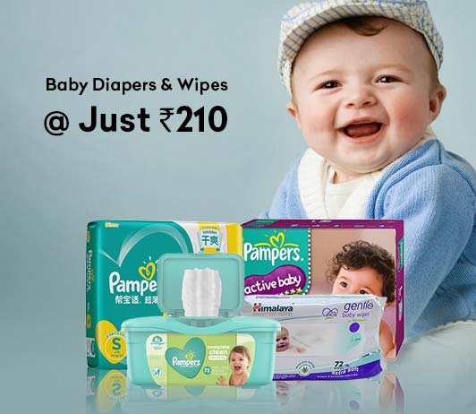 Firstcry Diapers Wipes Offer