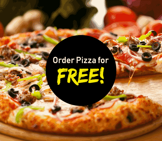 Free Pizza from Mojo Pizza