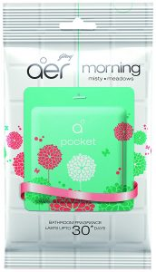 Godrej Aer Pocket Bathroom Fragrance - 10 g