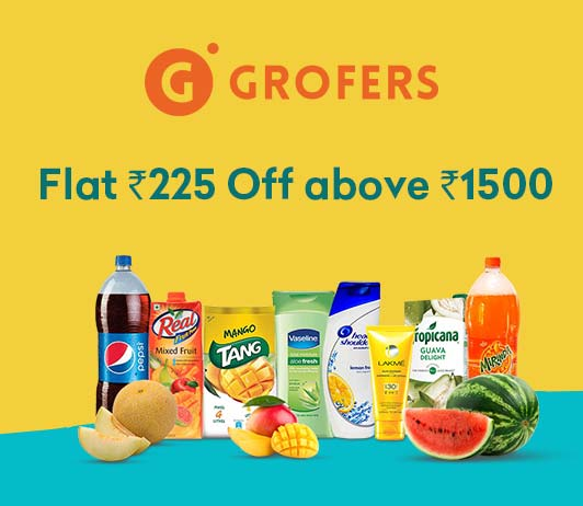 Grofers Grocery Offer