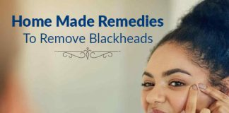 Home Made Remedies to Remove Blackheads