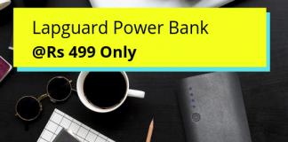 Lapguard 10400mAH Power Bank details