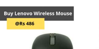 Lenovo Wireless Optical Mouse