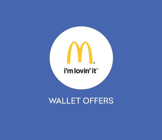 McDonalds Wallet Offers