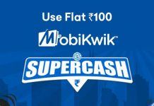 MobiKwik SuperCash Offers