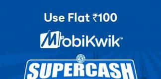 MobiKwik SuperCash Offers