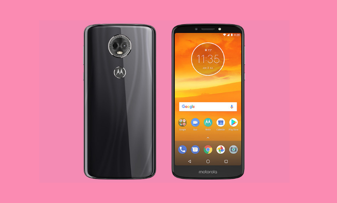 Moto E5 screen size