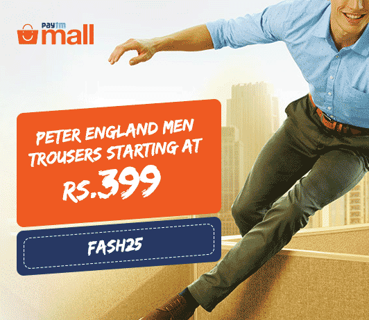 Paytm Mall Peter England Offer