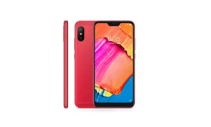 Redmi 6 Pro red color