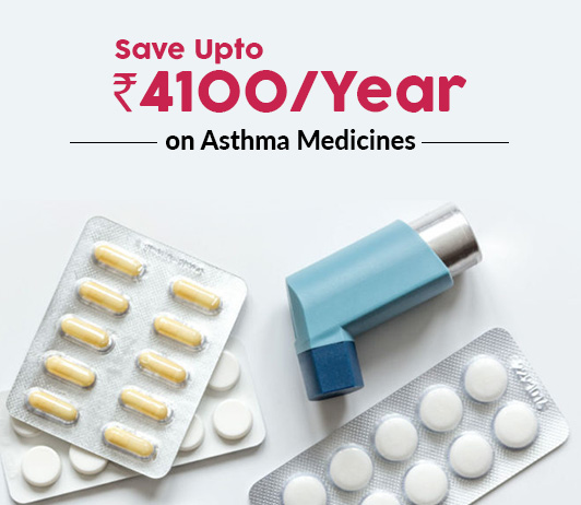 Save Up To Rs.4100/Year On Asthma Medicines