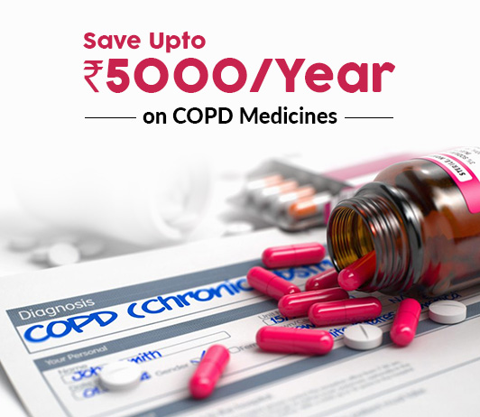 Save Upto Rs.5000/Year On COPD Medicines