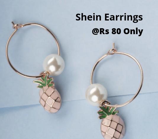 Shein Earrings Offer