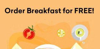 Swiggy Free Breakfast