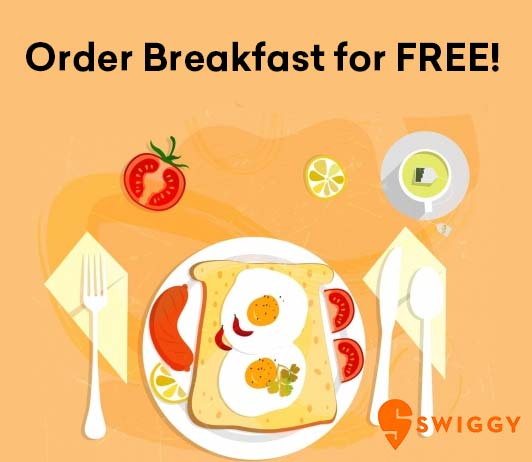 Swiggy Free Breakfast