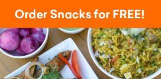 Swiggy Free Snacks Offer