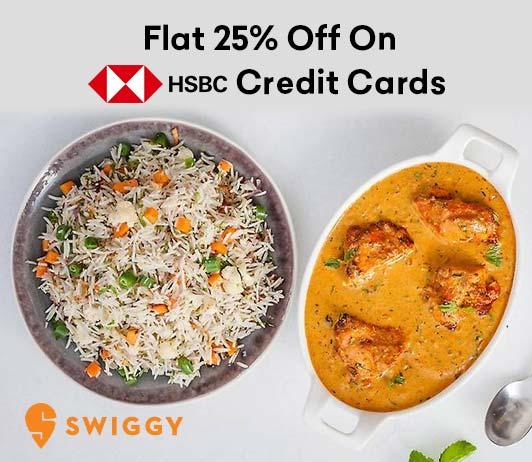 Swiggy HSBC Offer