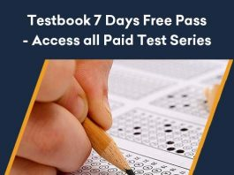 Testbook 7 Day Free Paid Test Series Offer
