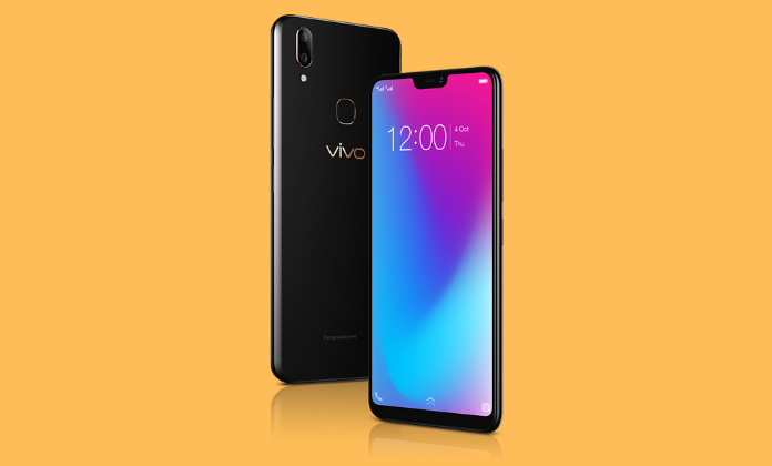VIVO V9 Pro black color