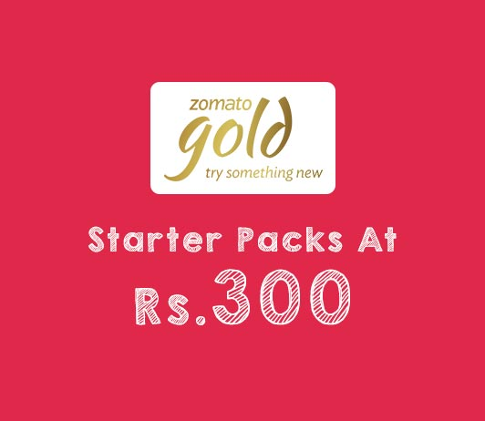 Zomato Gold Packs