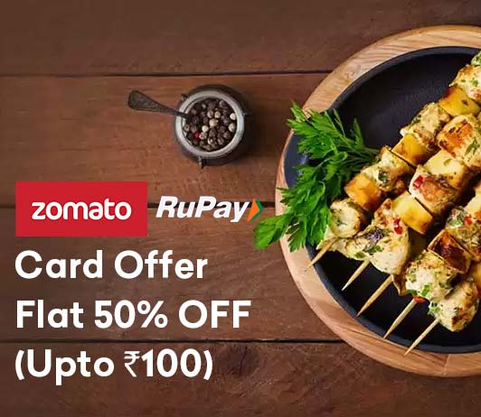Zomato Rupay Card Offers