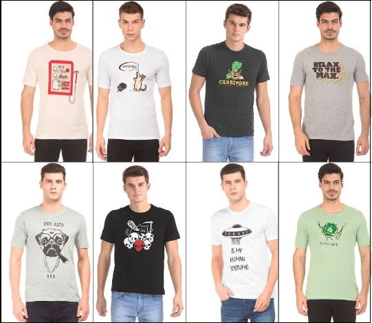 Men t-shirt models