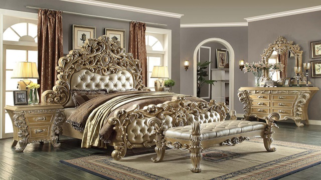 Ornate Bed