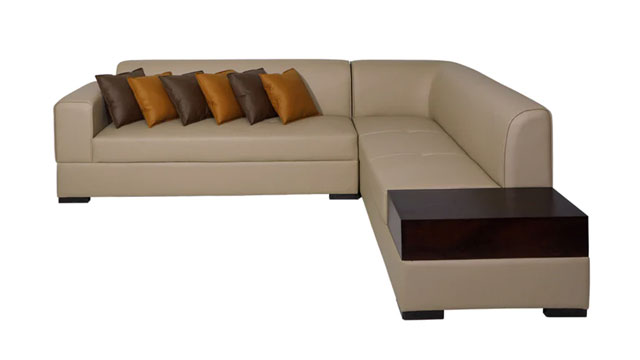 L-shaped Sofa Without Recliner