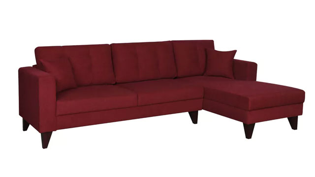 L-shaped Sofa With Recliner
