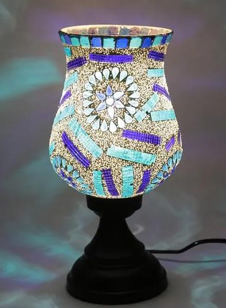 Multi-coloured Glass Lamps