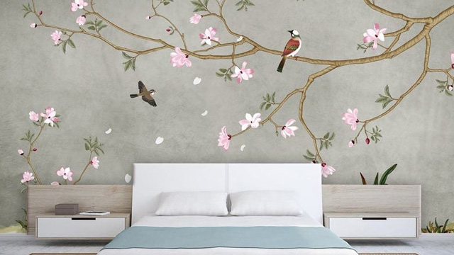 Floral Wall Papers