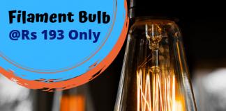 Best Filament bulb